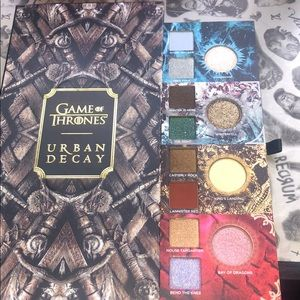 Game of Thrones Urban Decay Eyeshadow Palette